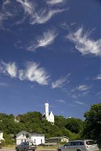 Photo: Schlösschen von Lietzow mit schönen Wolken