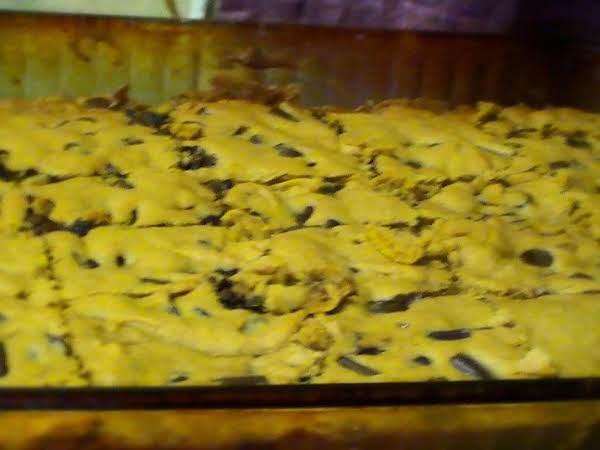 The Best, The Easiest, 2-chocolate, Pumpkin Bars Recipe