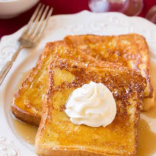 Eggnog French Toast.