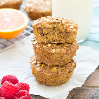 Gingerbread Baked Oatmeal Cups.