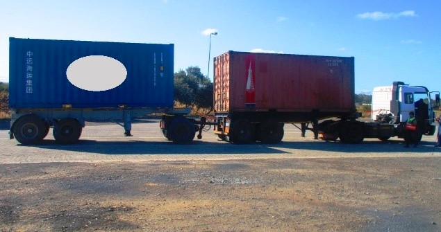 A truck overloaded to the tune of 25 tons was slapped with fines totalling R42,000 by the city of Cape Town.