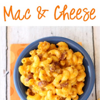 Crockpot Chili Mac and Cheese
