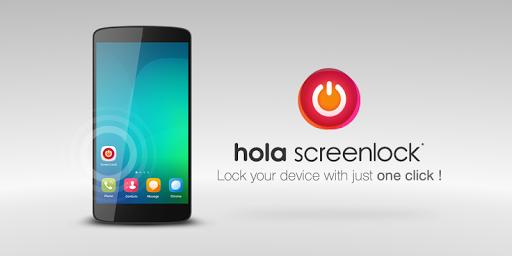 Hola Screen Lock screenshot 1