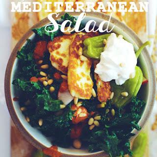 Majorly Delicious Mediterranean Salad.