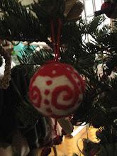 Photo: Tűnemezelés - karácsonyfadísz