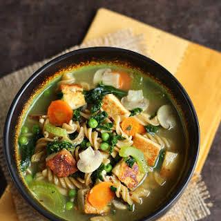 Tofu Noodle Soup.