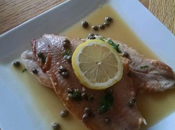 Catfish Piccata