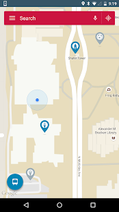 Ball State University Map- screenshot thumbnail