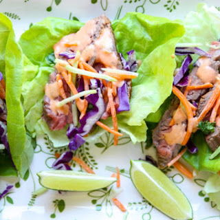 Ranch Steak Lettuce Wraps – Steak Wraps.