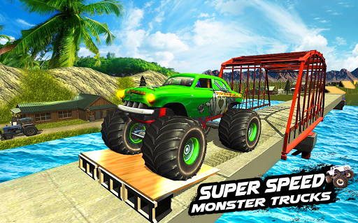Mega Ramp Monster Truck Racing Games 1.0 Paidproapk.com 1