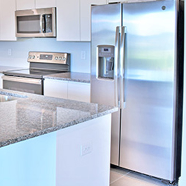 Stainless Steel Appliances- EcoSun Homes