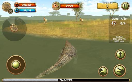 Wild Crocodile Simulator 3D apkpoly screenshots 12