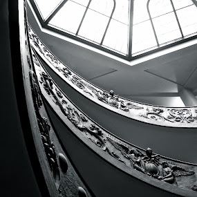 Vatican stairs by Cristiana Chivarria - Buildings & Architecture Other Interior ( vatican city, stairs, rome )