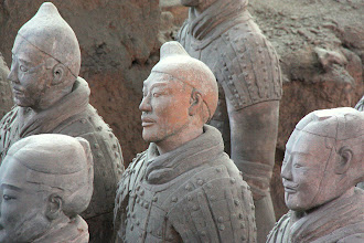 Photo: Day 188 -  Terracotta Warriors in Xi'an  Pit 1 #17