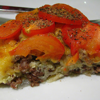 Bisquick's Impossibly Easy Cheeseburger Pie.