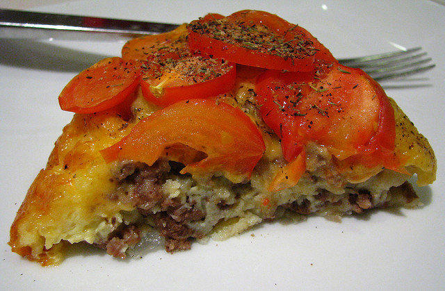 Bisquick's Impossibly Easy Cheeseburger Pie