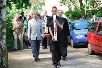 Photo: Beginn der Prozession nach Ledeburg