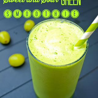 Sweet and Sour Green Smoothie.
