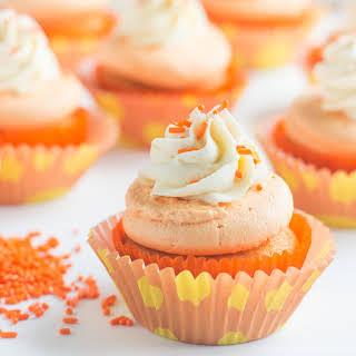 Orange Creamsicle Cupcakes.