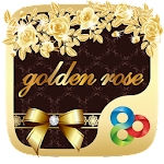 Golden Rose GO Launcher Theme