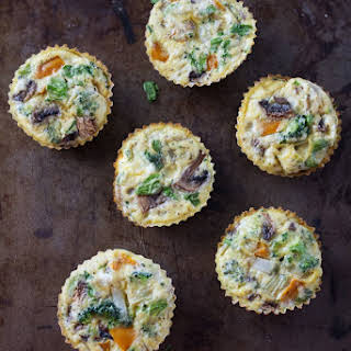 Healthy Baked Egg Cups.