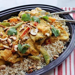Vegetarian Cashew Curry.