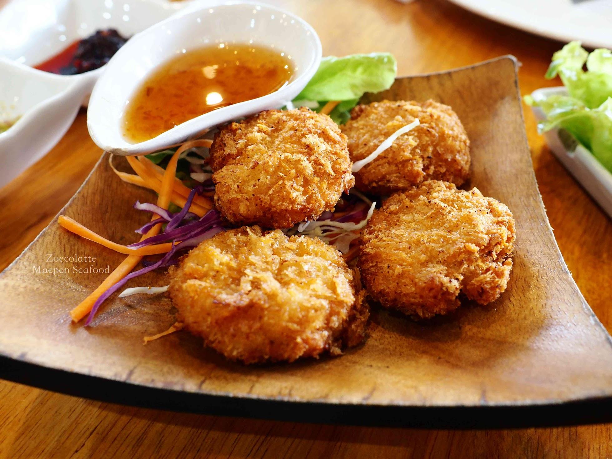 Deep Fried Shrimp Cake 炸蝦餅