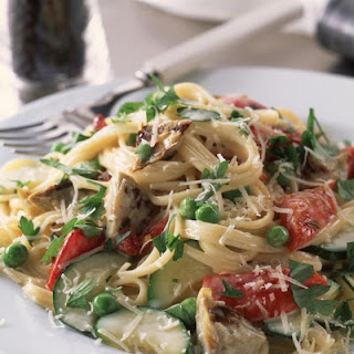 Creamy Vegetables Carbonara