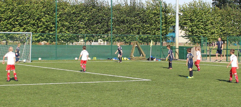 Football Academy Friendly Game Juve Mollem
