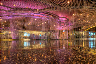 Photo: From the Cosmopolitan Hotel in Las Vegas. Taken on our little vacation. HDR shoot at floor level.  Enjoy!