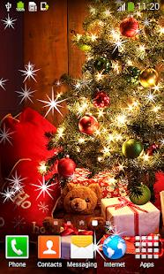Živé tapety vánočními - náhled