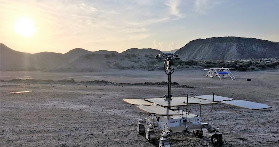 Objetivo Marte: Almería en las misiones que buscan si hubo vida en el planeta