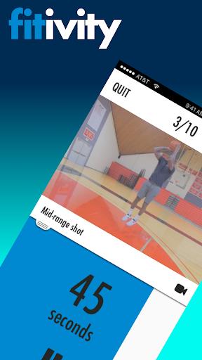 Basketball Bodyweight Exercise 8.0.2 screenshots 1