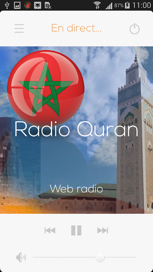 Maroc web radios & FM stations- screenshot