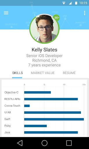 app tech job search by dice app