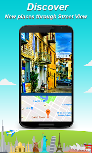 Live Street HD view: Gps Navigation, Nearby Places Screenshot