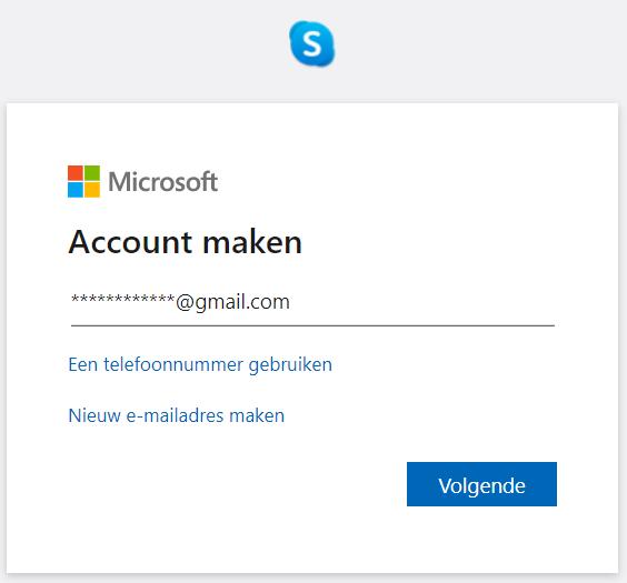 Hoe een skype account aanmaken