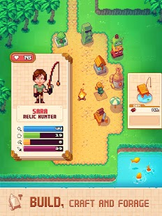 Tinker Island - Pixel Art Survival Adventure Screenshot