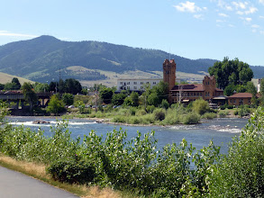 Photo: Nice-looking college town on Clark Fork