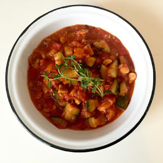 84 Summer vegetable ragout (Leczo)