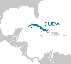 Photo: Internet satelital paraa Cuba
