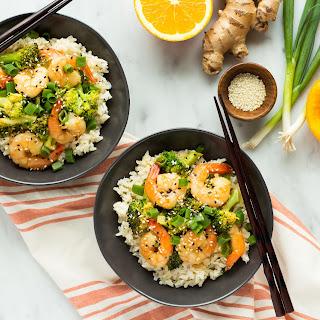 Orange Sesame Shrimp