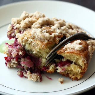 Raspberry Madness Coffee Cake