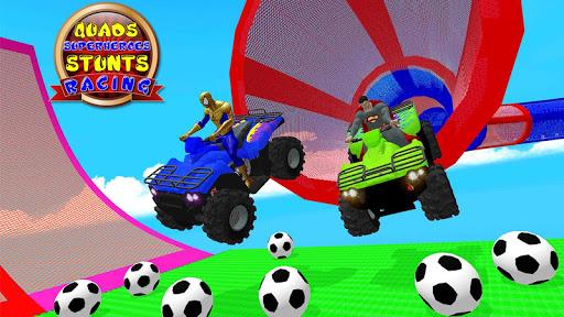 Quads Superheroes Stunts Racing 1.5 screenshots 5