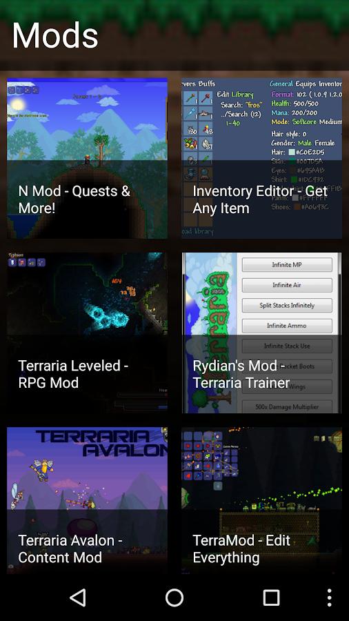 Terraria item ids android file