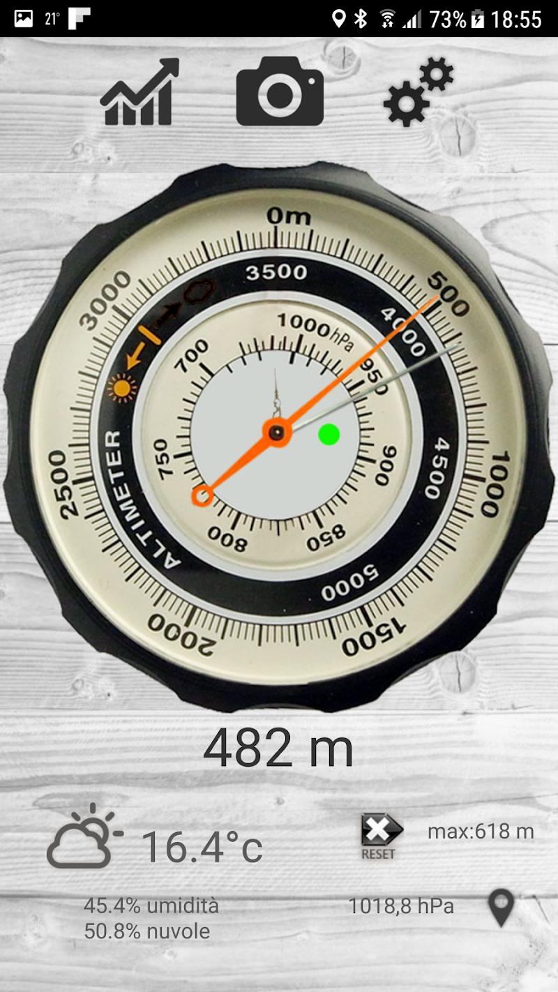 Altimetro - altimeter pro Screenshot 7