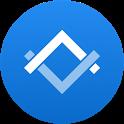 Triangle: More Mobile Data icon