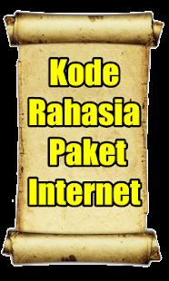 Kode Rahasia Paket Internet Murah - náhled