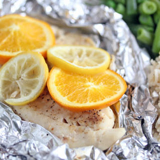 Grilled Citrus Tilapia Packets