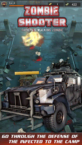 Télécharger Gratuit walking zombie shooter: zombie shooting games APK MOD (Astuce) screenshots 4